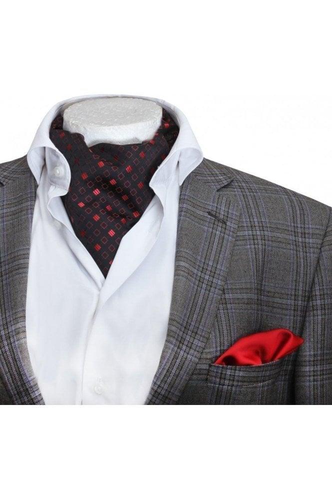 Men s Silk Ascot Cravat Ties   Ústav konkurencieschopnosti a inovácií 554d435ce26