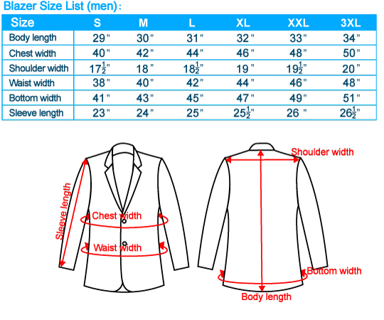 How To Measure Jacket Size. Chest measurements are the main and most important measurement you'll need. Add one or two inches onto the chest measurement for a looser fit. Shoulder, sleeve and jacket length are also valid measurements to take. Sport jackets are a looser fitting suit jacket but are both still structured jackets.