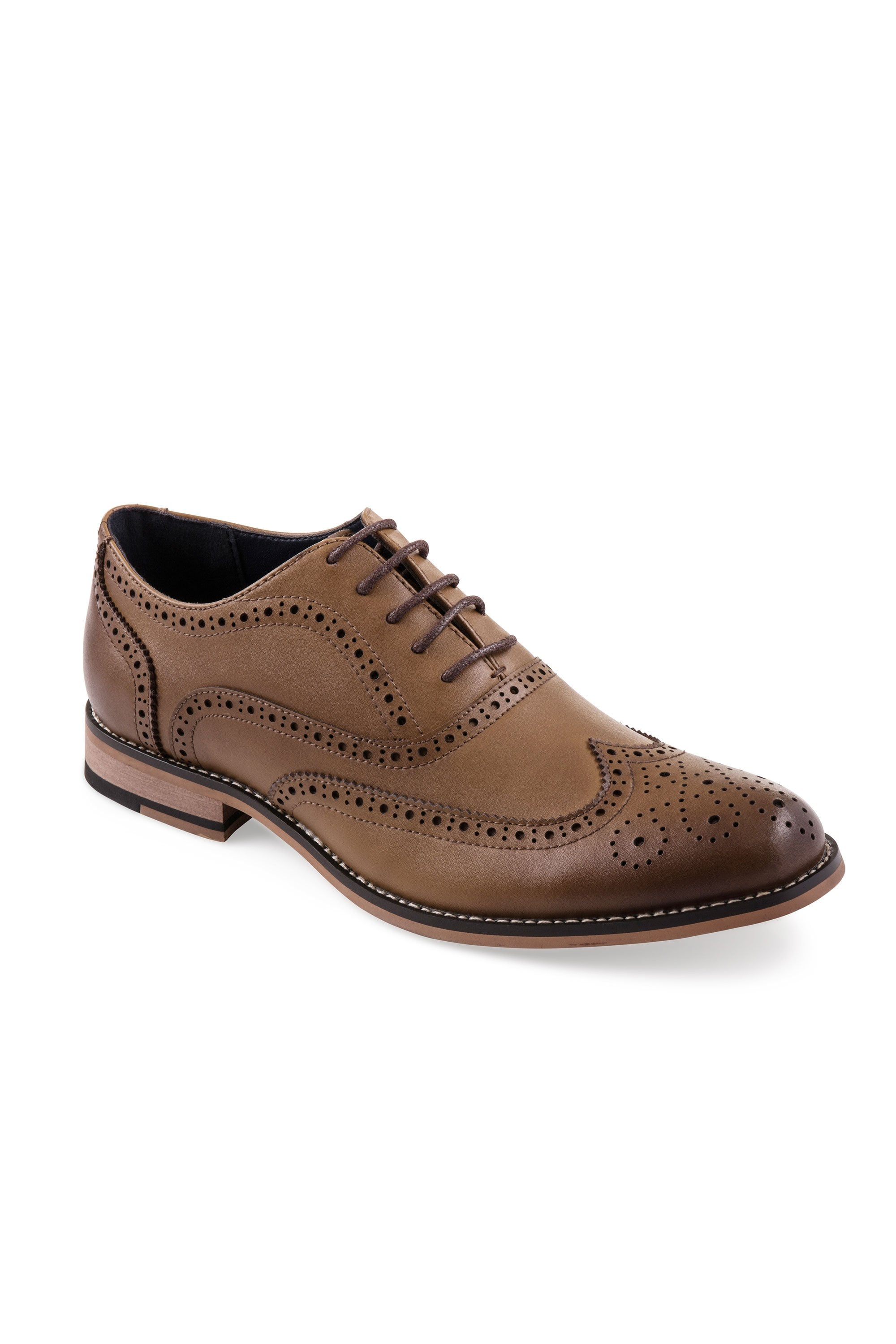 50% price outlet store sale offer discounts Cavani Cavani Oxford Tan Leather Brogues