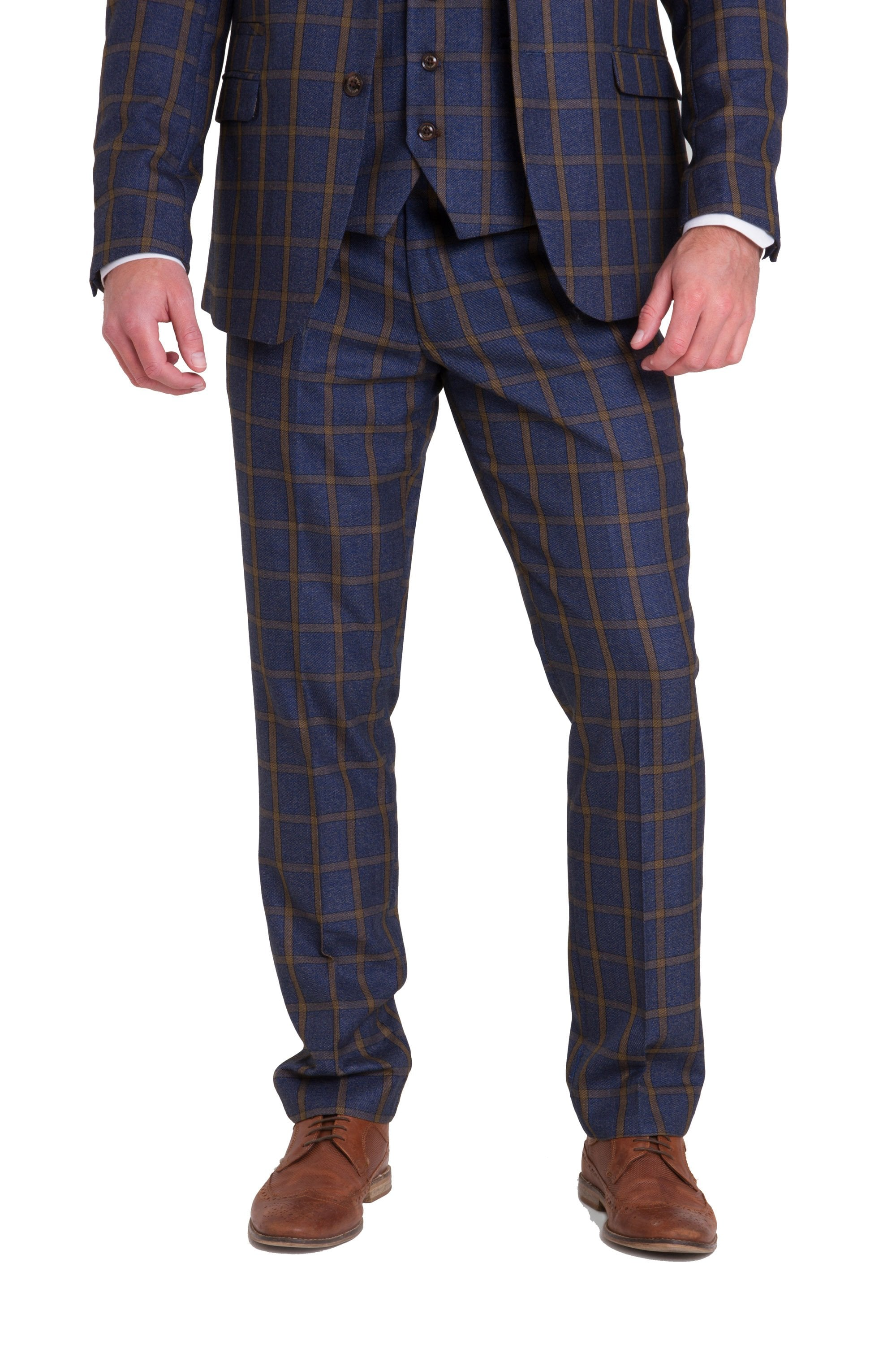 Marc Darcy Roman Tweed Trousers 363913f76007